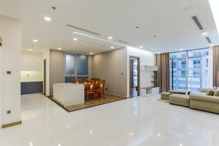 Căn hộ Vinhomes Central Park 3 phòng ngủ tầng cao P4 view nội khu