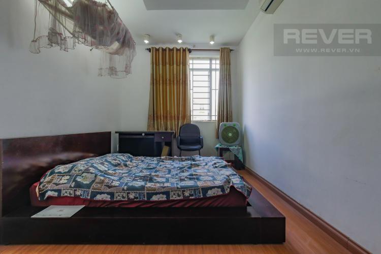 Phòng Ngủ Tầng 2 Cho thuê nhà phố KDC Khang An - Phú Hữu Q.9, 3 tầng, 5 phòng ngủ, đầy đủ nội thất, diện tích 168m2