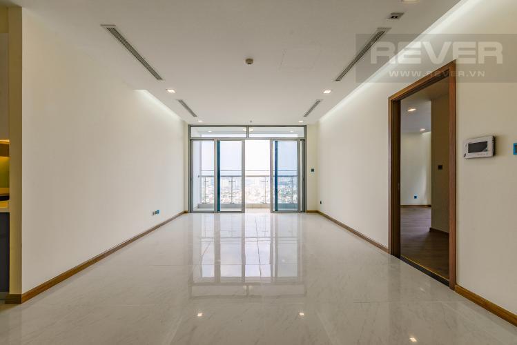 Phòng khách Căn góc Vinhomes Central Park 4 phòng ngủ tầng cao P4 view sông