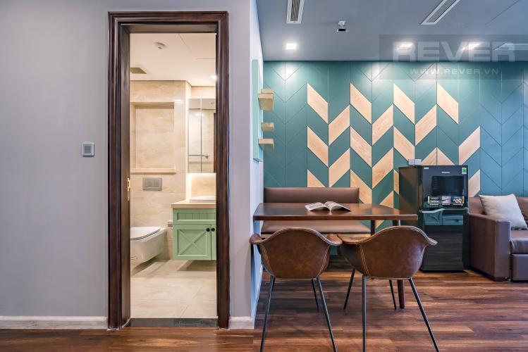 Phòng Ăn Bán căn hộ Vinhomes Golden River 1PN, tầng cao, đầy đủ nội thất, view sông thoáng mát
