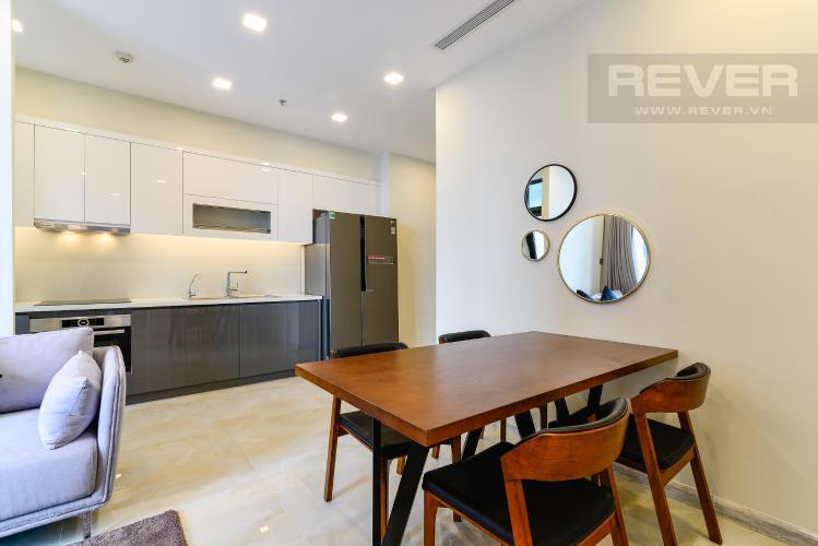 Phòng Ăn & Bếp Căn hộ Vinhomes Golden River tầng cao, 2PN, đầy đủ nội thất, view sông thoáng đãng