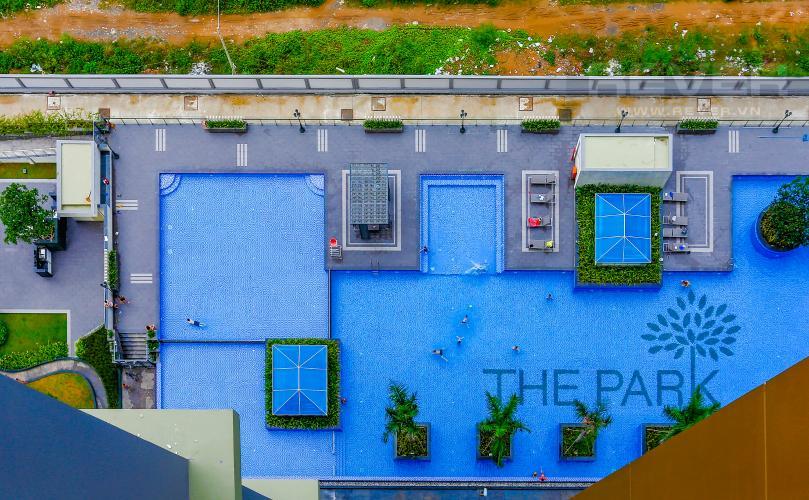 View Căn hộ The Park Residence 2 phòng ngủ tầng cao B3 view hồ bơi