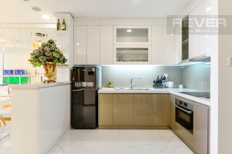 Nhà Bếp Bán căn hộ Vinhomes Central Park 1PN, tháp Landmark 81, đầy đủ nội thất, view trực diện hồ bơi