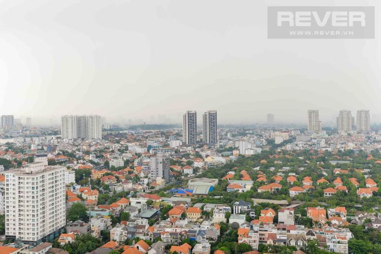 View Cho thuê căn hộ Masteri Thảo Điền 2PN tầng cao, nội thất đầy đủ, khu dân cư yên tĩnh