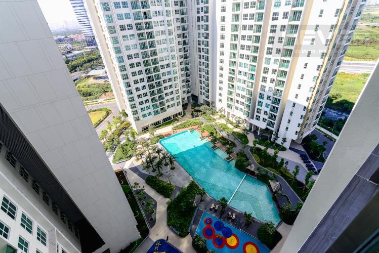 View Bán căn hộ Sadora Sala Đại Quang Minh 2PN 2WC nội thất cơ bản, view hồ bơi