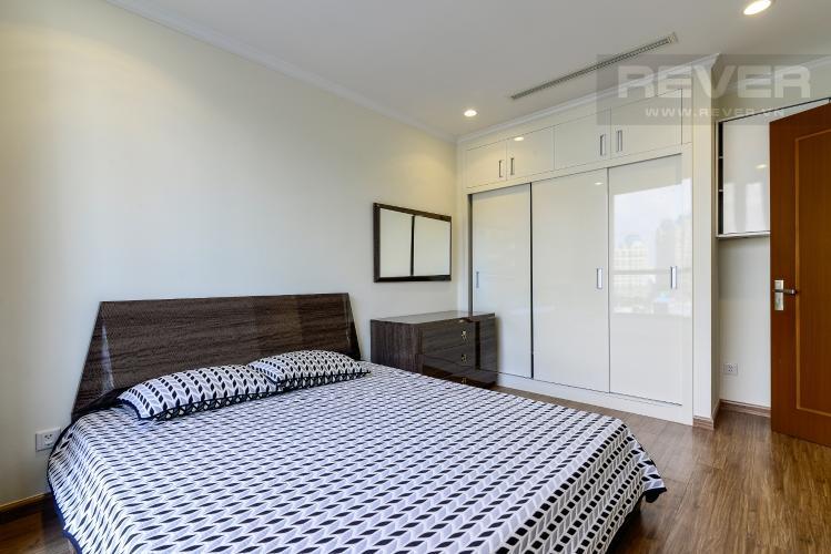 Phòng Ngủ 1 Bán căn hộ Vinhomes Central Park 2PN tầng thấp tháp Landmark 3, đầy đủ nội thất, view nội khu đẹp
