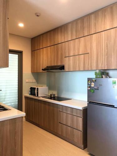 Phòng bếp căn hộ Diamond Island Căn hộ Đảo Kim Cương tầng cao tháp Hawaii đầy đủ nội thất.