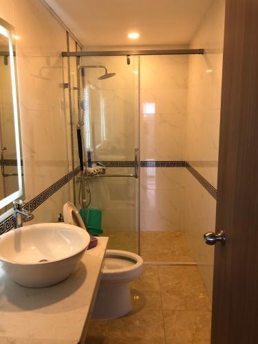 Toilet căn hộ GALAXY 9 Căn hộ Galaxy 9 tầng 17, view thành phố cực thoáng mát