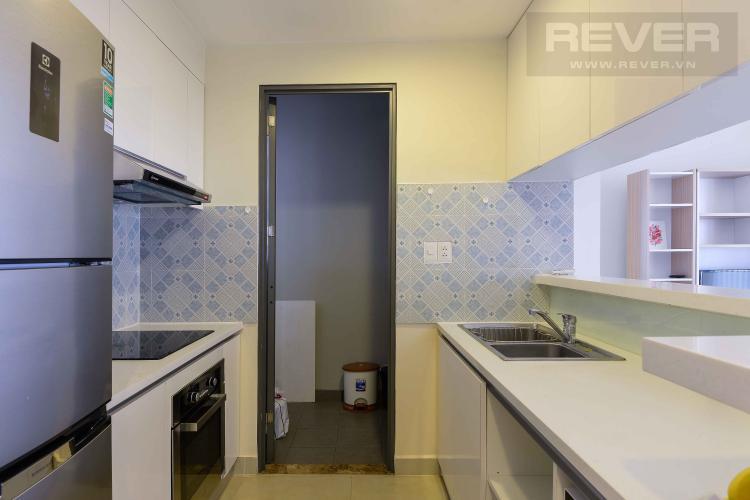 Bếp Cho thuê căn hộ Masteri Thảo Điền 2PN, tầng cao, tháp T4, đầy đủ nội thất, view Xa lộ Hà Nội