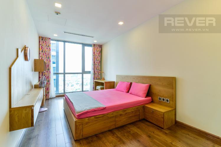 Phòng Ngủ 2 Căn hộ Vinhomes Central Park 3 phòng ngủ tầng cao P6 nội thất đẹp
