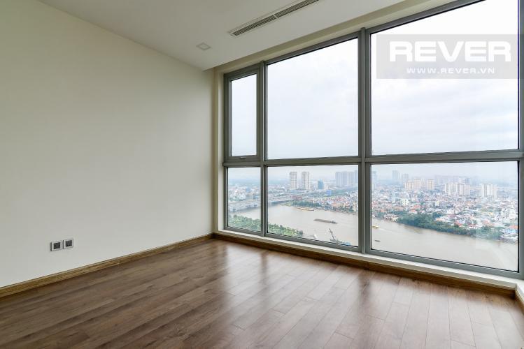 Phòng Ngủ 1 Căn hộ Vinhomes Central Park tầng cao, 3PN, view sông Sài Gòn