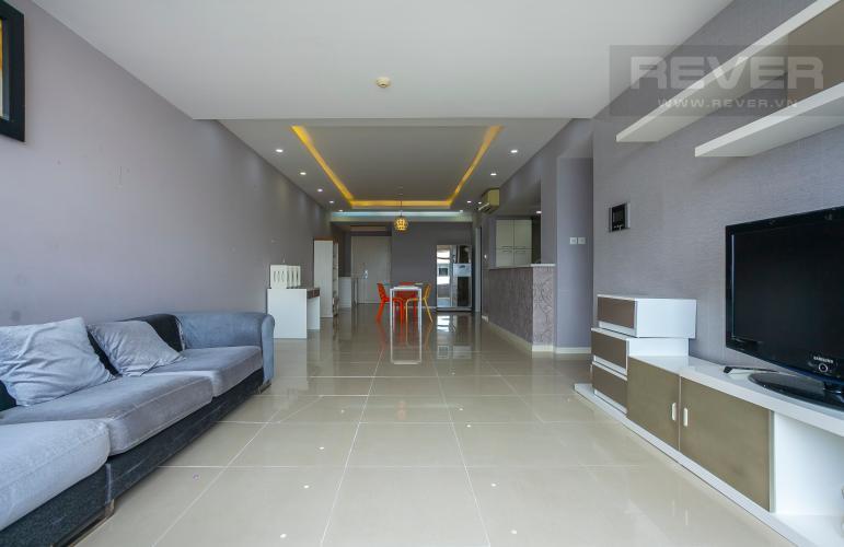Tổng Quan Căn góc Saigon Pearl 3 phòng ngủ tầng thấp Ruby 1