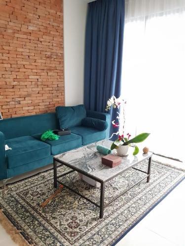 Căn hộ tầng cao Masteri Millennium nội thất sang trọng, view Q7.