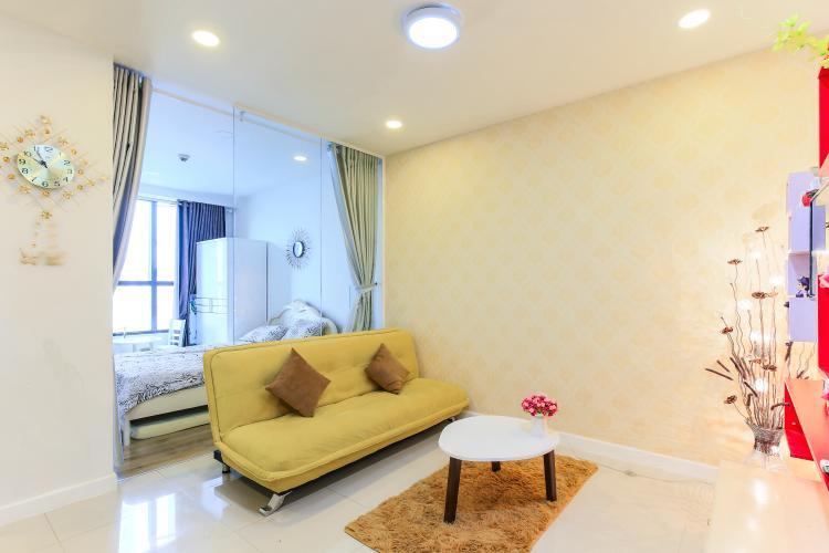 Căn hộ Icon 56 tầng thấp, 1 phòng ngủ, đầy đủ nội thất, view về kênh Tẻ