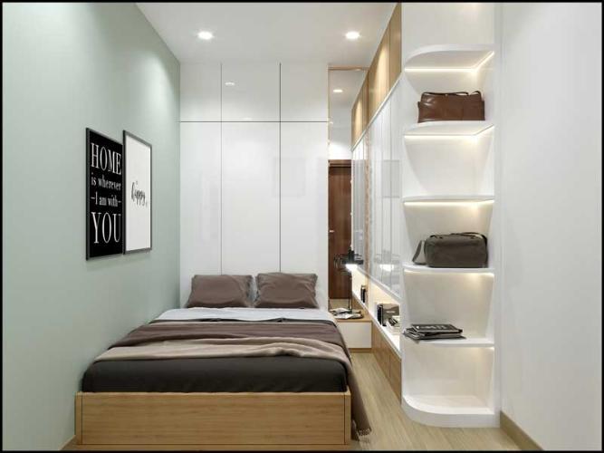 Nhà mẫu Bcons Green View Căn hộ Bcons Green View tầng cao, ban công rộng rãi.
