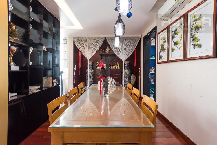 Phòng ăn căn hộ THE MANOR Bán căn hộ The Manor 3PN, tầng thấp, đầy đủ nội thất, sổ đỏ