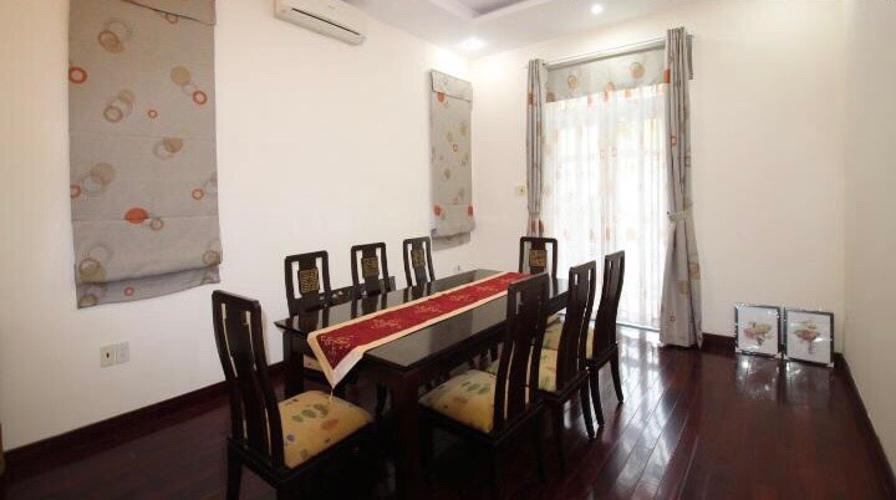 Phòng ăn Biệt thự Fideco Quận 2 Biệt thự Fedico Thảo Điền sân vườn rộng, hồ bơi đẹp.