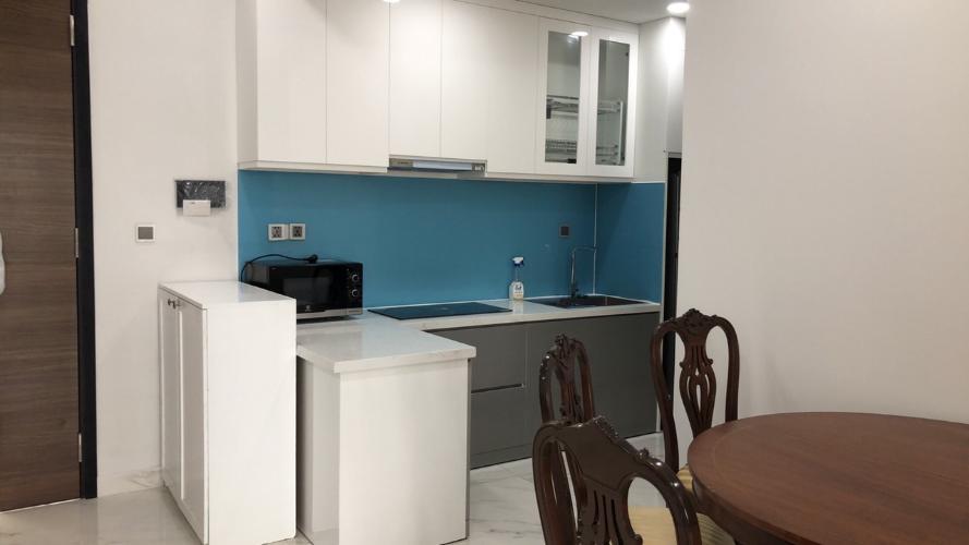 Phòng bếp Phú Mỹ Hưng Midtown Căn hộ Phú Mỹ Hưng Midtown nội thất hiện đại, cửa hướng Đông Nam.
