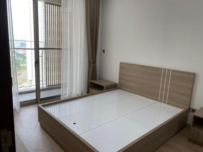 phòng ngủ căn hộ midtown Căn hộ Phú Mỹ Hưng Midtown tầng trung, nội thất cơ bản.