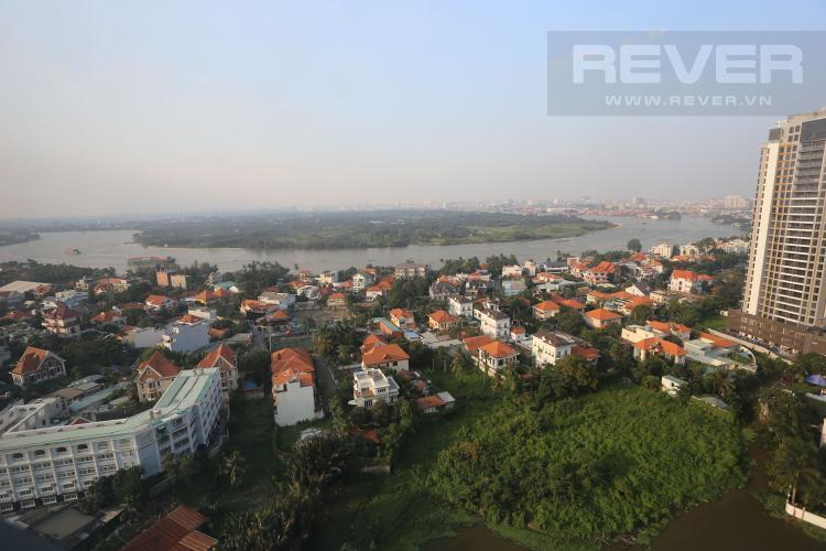 View Bán căn hộ Masteri Thảo Điền tầng cao 2PN đầy đủ nội thất, view sông