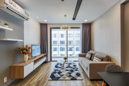 Căn hộ The Gold View 2 phòng ngủ tầng cao A2 nội thất hiện đại