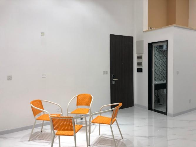 phòng khách căn hộ midtown Căn hộ Shophouse Phú Mỹ Hưng Midtown diện tích 41.51m2