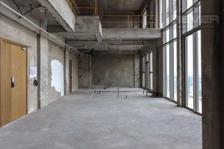 Tổng Quan Nhà Bán penthouse Masteri Millennium 3PN, block A, không nội thất, thiết kế thông tầng, view panarama thành phố