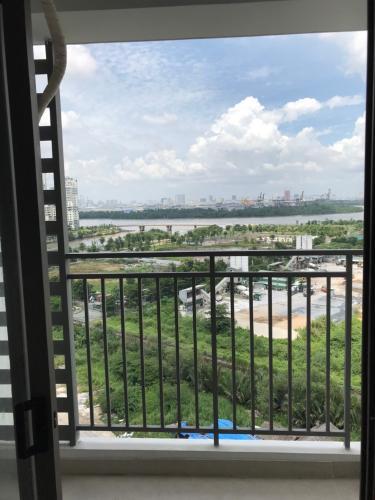 Phòng khách căn hộ The Sun Avenue Cho thuê căn hộ The Sun Avenue tầng trung 2 phòng ngủ diện tích 76m2