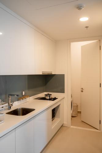 Bếp căn hộ GATEWAY THẢO ĐIỀN Cho thuê căn hộ Gateway Thảo Điền 1PN, tầng cao, diện tích 56m2, đầy đủ nội thất, view hồ bơi