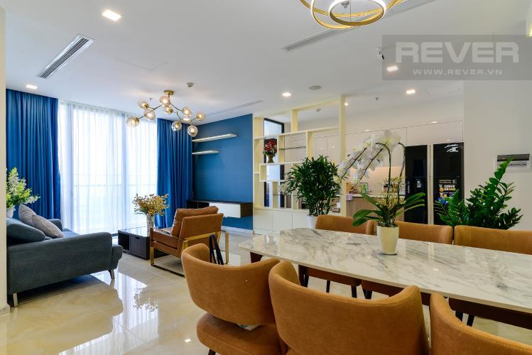 Phòng Khách Bán căn hộ Vinhomes Golden River 3PN, tầng cao, đầy đủ nội thất, view Thủ Thiêm và sông Sài Gòn
