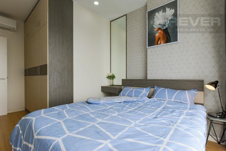 Phòng Ngủ 2 Cho thuê căn hộ Masteri Millennium tầng cao, 2PN, đầy đủ nội thất