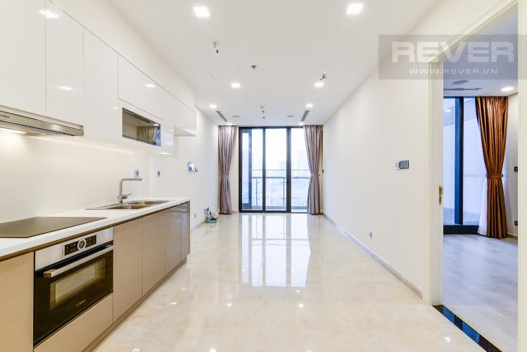 Phòng Khách Officetel Vinhomes Golden River tầng trung Aqua 4 view sông