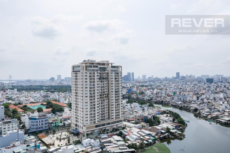 View Căn hộ M-One Nam Sài Gòn 2 phòng ngủ tầng cao T2 full nội thất