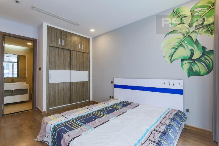 Phòng Ngủ 1 Bán căn hộ Vinhomes Central Park tầng trung tháp Park 3, 2PN 2WC, đầy đủ nội thất cao cấp