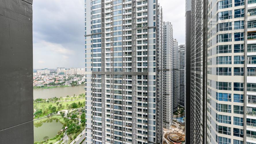 view Căn hộ Vinhomes Central Park tầng cao L1 nội thất cao cấp, view sông