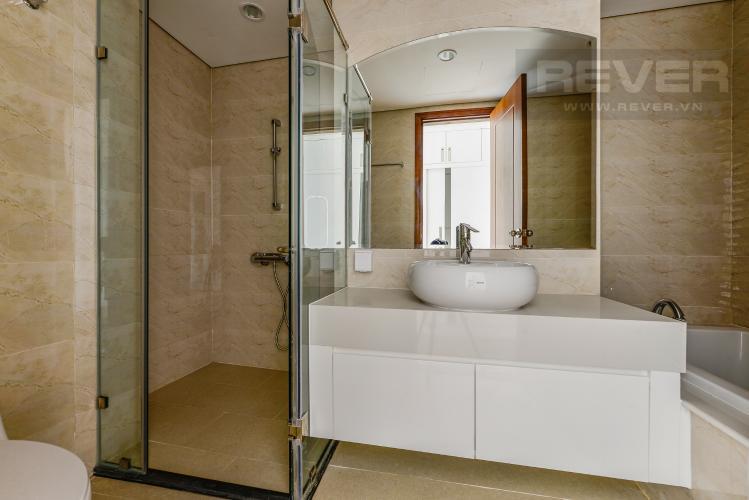 Phòng tắm 2 Căn hộ Vinhomes Central Park 4 phòng ngủ tầng cao C1 view sông