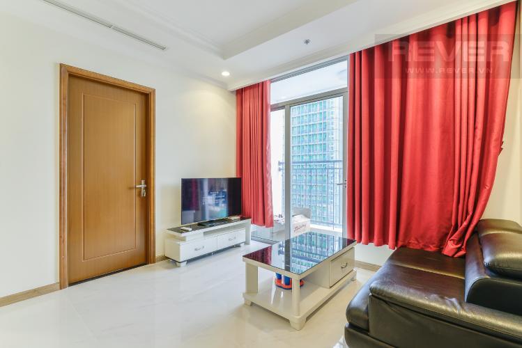 Phòng Khách Căn hộ Vinhomes Central Park 3 phòng ngủ tầng cao L2 view sông