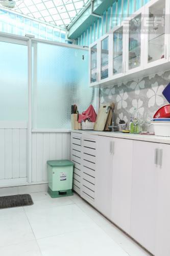 Phòng Bếp Bán hoặc cho thuê nhà phố 2 tầng, khu biệt thự compound Mega Village Quận 9, diện tích đất 75m2, đầy đủ nội thất