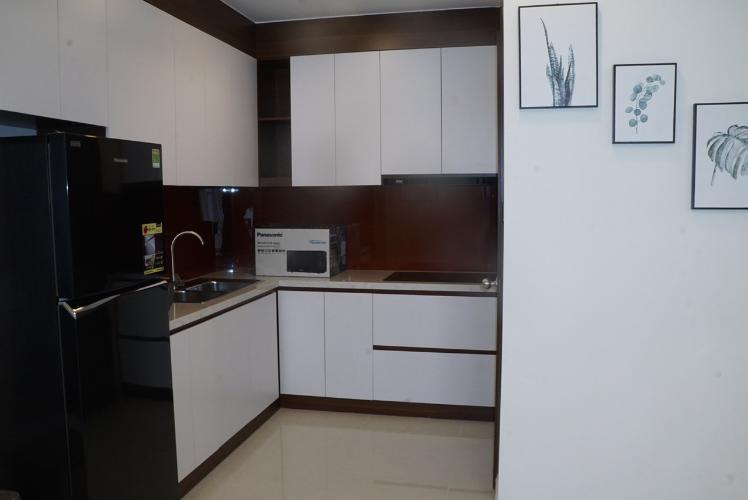 Phòng bếp căn hộ Saigon Royal Căn hộ Saigon Royal nội thất đầy đủ tiện nghi, view nội khu.