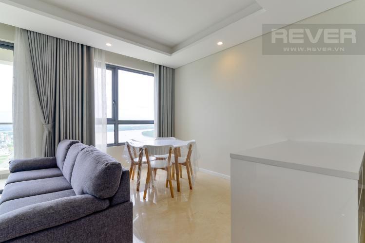 Phòng Ăn Cho thuê căn hộ Diamond Island - Đảo Kim Cương 2PN, tháp Maldives, đầy đủ nội thất, view sông thoáng mát