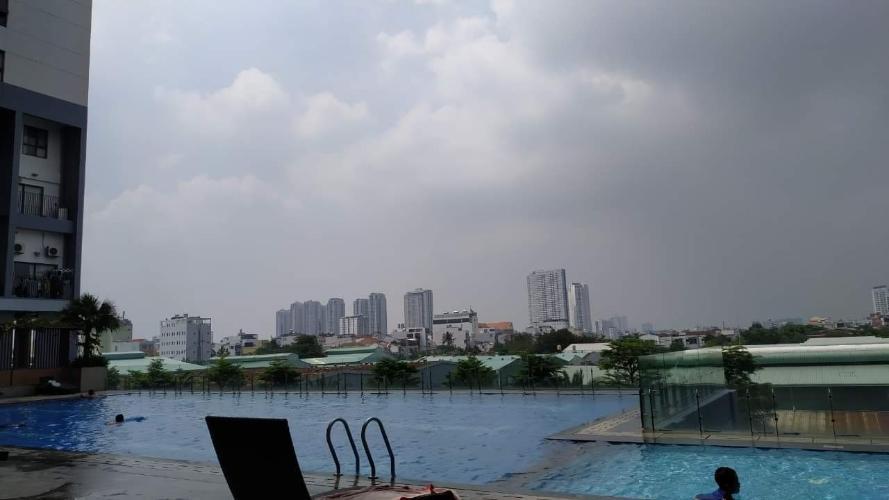Hồ bơi M-One Nam Sài Gòn, Quận 7 Căn hộ Office-tel M-One Nam Sài Gòn tầng thấp, view quận 1 sầm uất