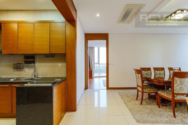 Bàn Ăn Căn hộ Xi Riverview Palace 3 phòng ngủ tầng trung block 101 nội thất có sẵn