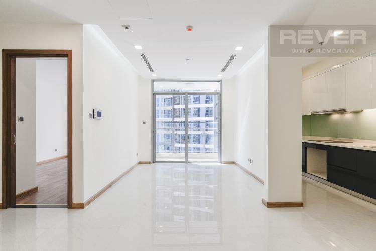 Phòng Khách Căn hộ Vinhomes Central Park 2 phòng ngủ tầng trung P3 view sông