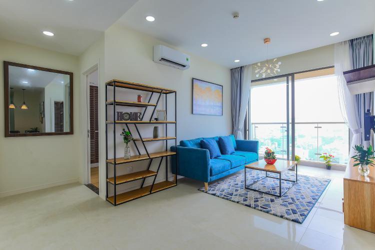 Cho thuê căn hộ Masteri Millennium tầng cao 2PN đầy đủ nội thất view sông