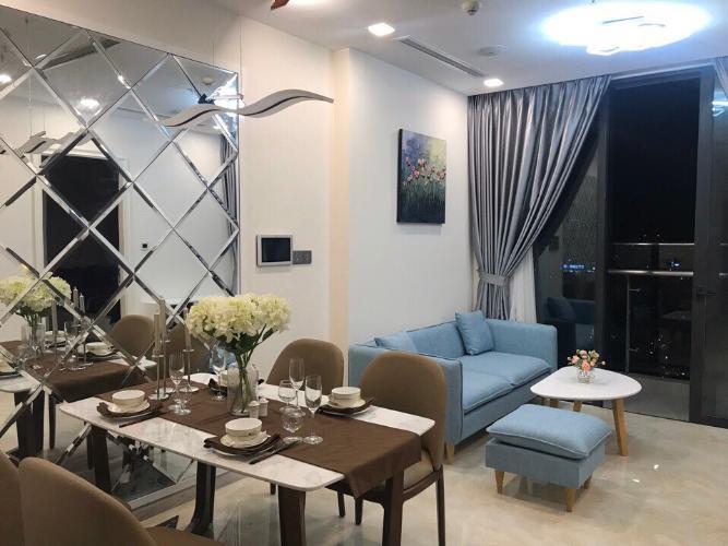 Phòng khách Căn hộ Vinhomes Golden River Ba Son Cho thuê căn hộ Vinhomes Golden River tầng 6, đầy đủ nội thất sang trọng, view thành phố