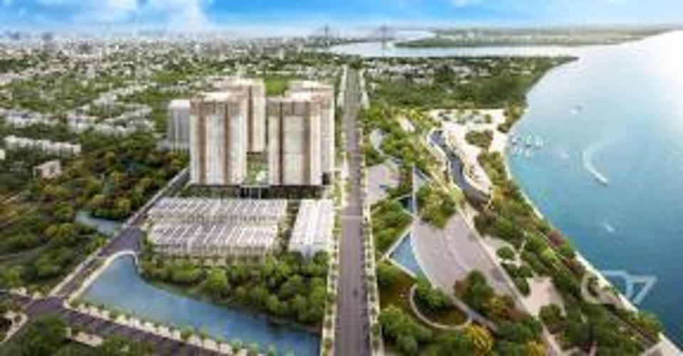 Mặt bằng căn hộ Q7 Saigon Riverside Bán căn hộ Q7 Saigon Riverside tầng trung, tháp Mercury, diện tích 66m2 - 2 phòng ngủ, chưa bàn giao