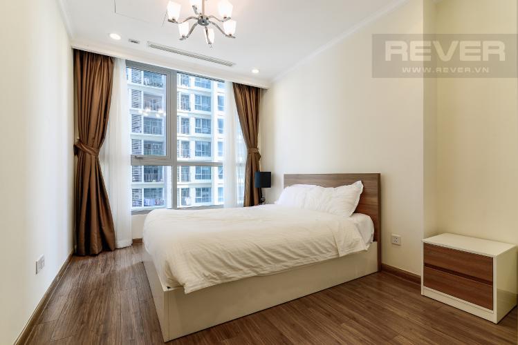 Phòng Ngủ 2 Căn hộ Vinhomes Central Park tầng trung, tháp Landmark 5, 2PN đầy đủ nội thất
