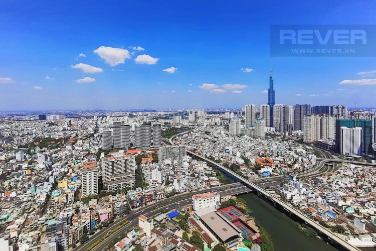 View Cho thuê căn hộ Vinhomes Golden River tầng cao, tháp The Aqua 4, đầy đủ nội thất, view sông Sài Gòn