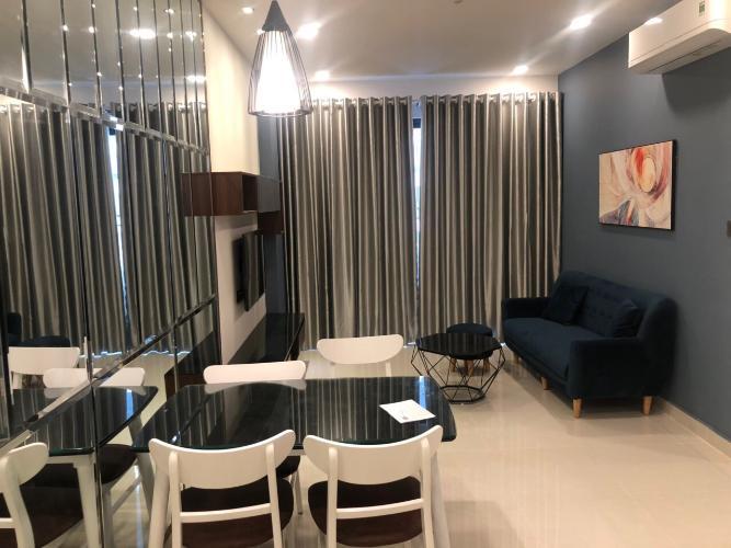 Cho thuê căn hộ Saigon Royal 2PN, tầng 21, tháp A, diện tích 80m2, đầy đủ nội thất, hướng Đông Bắc