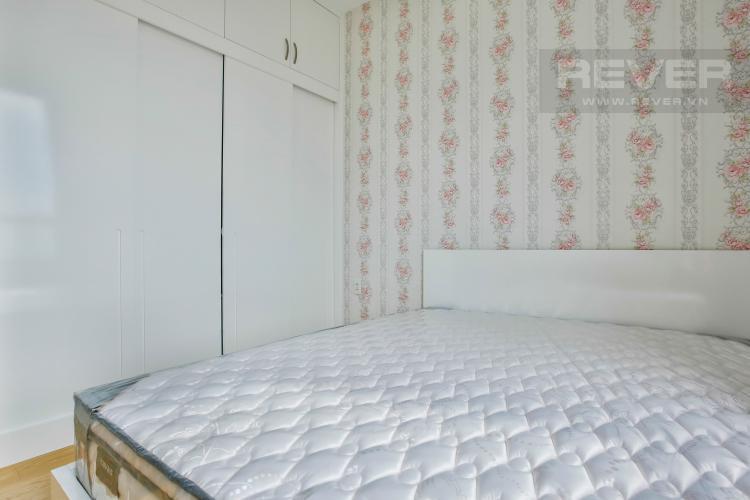 Phòng ngủ 1 Căn góc Masteri Thảo Điền tầng cao hướng Tây Bắc tháp T2